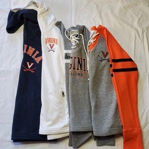 NEW! 4 Women's Virgina Cavaliers Sweaters/Tops